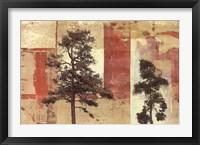 Parchment Trees II Fine Art Print