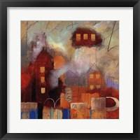 City Houses I Fine Art Print