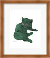 Untitled (Green Cat), c. 1956 Fine Art Print