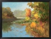 Mist Over Murphy's Lake Fine Art Print