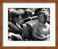 Jfk And Jacqueline, 1961 Fine Art Print