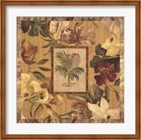 Fabric Palm II Fine Art Print