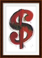 Dollar Sign, 1981 Fine Art Print