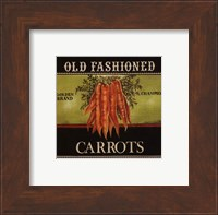 Old Fashioned Carrots - Special Fine Art Print