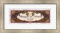 Bouquet De Violettes - Grande Fine Art Print