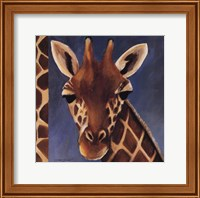 Exotic Giraffe - Mini Fine Art Print