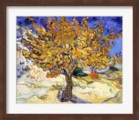 The Mulberry Tree in Autumn, c.1889 Fine Art Print