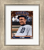 Ty Cobb - 2007 Vintage Studio Plus Fine Art Print