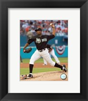 Dontrelle Willis - 2007 Pitching Action Fine Art Print
