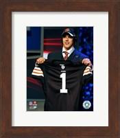 Brady Quinn - 2007 NFL Draft Day Fine Art Print