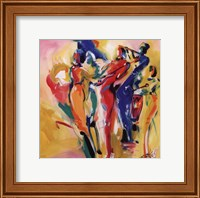 Jazz Explosion I Fine Art Print