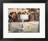 Apparition of Face and Fruit Dish on a Beach, c.1938 Fine Art Print