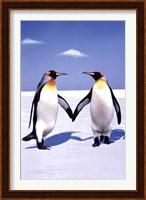 Penguin Love Wall Poster