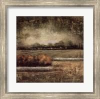 Field at Dawn I Fine Art Print