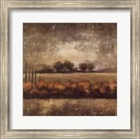 Field at Dawn II Fine Art Print