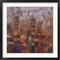 City Lights I Fine Art Print