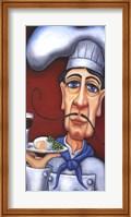Jacques the Chef Fine Art Print