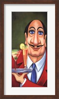 Sirio the Waiter Fine Art Print