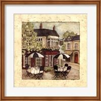 Corner Cafe I Fine Art Print