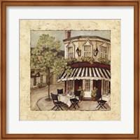 Corner Cafe II Fine Art Print
