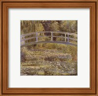 The Water Lily Pond and Bridge Fine Art Print