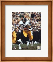 Franco Harris - Running With Ball Fine Art Print