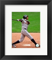 Curtis Granderson - 2007 Batting Action Fine Art Print