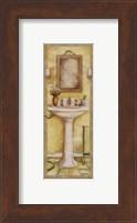 Pedestal and Toothbrush Fine Art Print