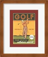 The Ideal Outdoor Sport Fine Art Print