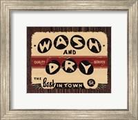 Wash and Dry Fine Art Print