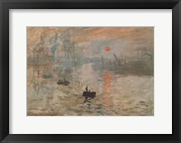 Impression, Sunrise, c.1872 (green) Fine Art Print