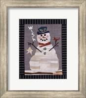 Snowman Wish Fine Art Print