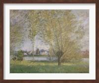 Willows of Vetheuil Fine Art Print