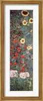 Garden with Sunflowers, c.1906 Fine Art Print