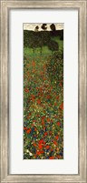 Field of Poppies, c.1907 (detail) - vertical Fine Art Print