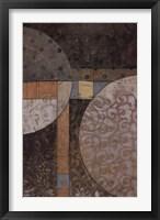 Geo Round Squared II Fine Art Print