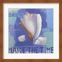 Shells of Time I Fine Art Print