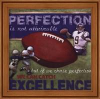 Perfection - Football Fine Art Print
