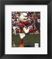 Sebastian -The Mascot of  University of Miami Hurricanes, 2003 Fine Art Print
