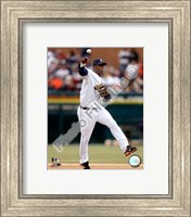 Edgar Renteria 2008 Fielding Action Fine Art Print