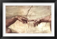 Creation of Adam (hands detail) Fine Art Print