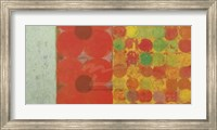 Flowers and Dots #1 Fine Art Print