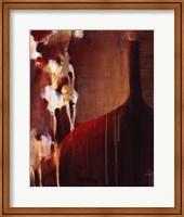 Persimmon Vase II Fine Art Print