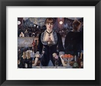 Bar at the Folies Bergere Fine Art Print