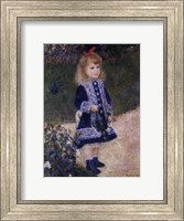 Girl with a Watering Can Fine Art Print
