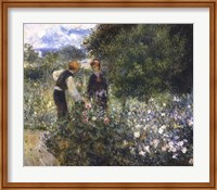 Picking Flowers Fine Art Print