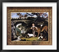 Peaceable Kingdom of the Branch Fine Art Print
