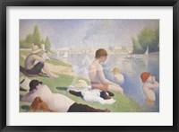 Bathers at Asnieres Fine Art Print