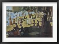 Sunday Afternoon on the Island of La Grande Jatte, c.1886 Fine Art Print