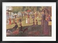 Study for 'Sunday on La Grande Jatte' Fine Art Print